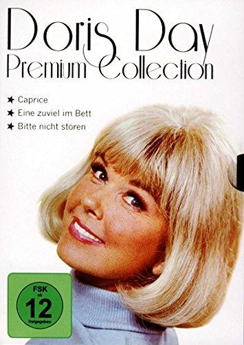 DORIS DAY - Premium Collection (3 Filme auf 3 DVDs) (Eine zuviel im Bett, Caprice, Bitte nicht stören)