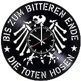 Die Toten Hosen Vinyl Wanduhr Vinyl Schallplatte Retro