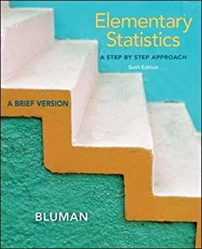 Elementary Statistics  A Step by Step Approach-A Brief Version 6th Edition  With Data CD