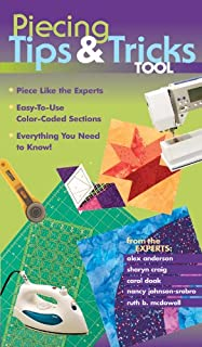 Piecing Tips & Tricks Tool: Piece Like the Experts, Easy-to-Use Color-Coded Sections, Everything You Need to Know! (English Edition)