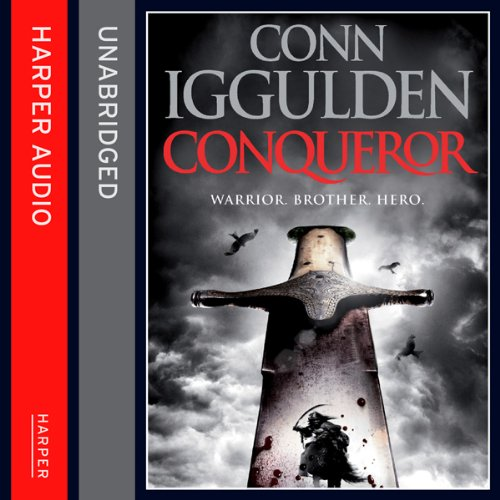 Conqueror audiobook cover art