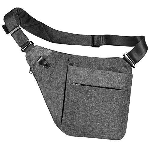 Sling Bag Crossbody Shoulder Chest Bag Anti Theft Travel Chest Bags Pack Daypack Bags For Outdoor Sport Travel Hiking