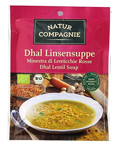 Natur Compagnie Dhal-Linsensuppe im Beutel (1 Beutel) - Bio