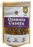 Granola Casera, Nueces, Almendras y Semillas Tostadas, Horneado en Proceso Artesanal, Alto contenido de Proteina Vegetal y Fibra Alimentaria, Apta Dieta Keto (3x350g)