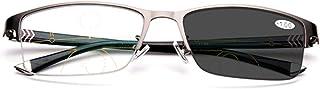 インテリジェント自動ズームフォトクロミック多焦点老眼鏡 - メンズ/レディース - サングラス