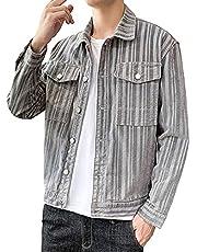[サンカク] 5カラー コーデュロイ Gジャン ジャケット メンズ ビッグシルエット ショート丈 ジャンパー M~3XL