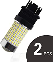 GOSMY 3157 LED Backup Reverse Lights 3400LM Extremely Bright 3056 3156 3057 LED Bulbs with Projector for Car Brake Lights,Parking Lights Xenon White