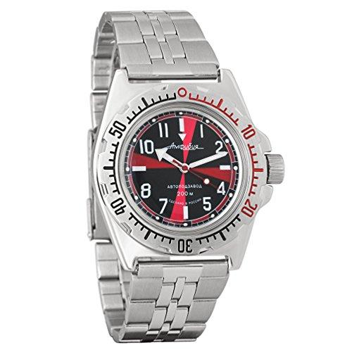 Vostok / Wostok Amphibian 2415 110650 Russisches Militär Mechanische Uhr
