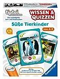 Ravensburger tiptoi 00082 Wissen und Quizzen: Süße Tierkinder, Quizspiel für Kinder ab 6 Jahren, für 1-6 Spieler