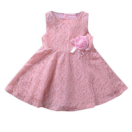 Allence Babykleidung Neugeborenes Lace Floral Kleid Baby Kinderbekleidung Sommer Prinzessin Kleid...