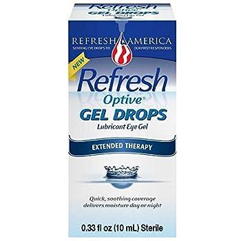 Refresh Optive Gel Drops - 0.33 oz Pack of 2