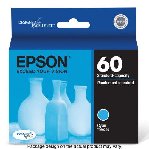 Epson T060220 DURABrite Ultra Cyan Standard Capacity Cartridge Ink