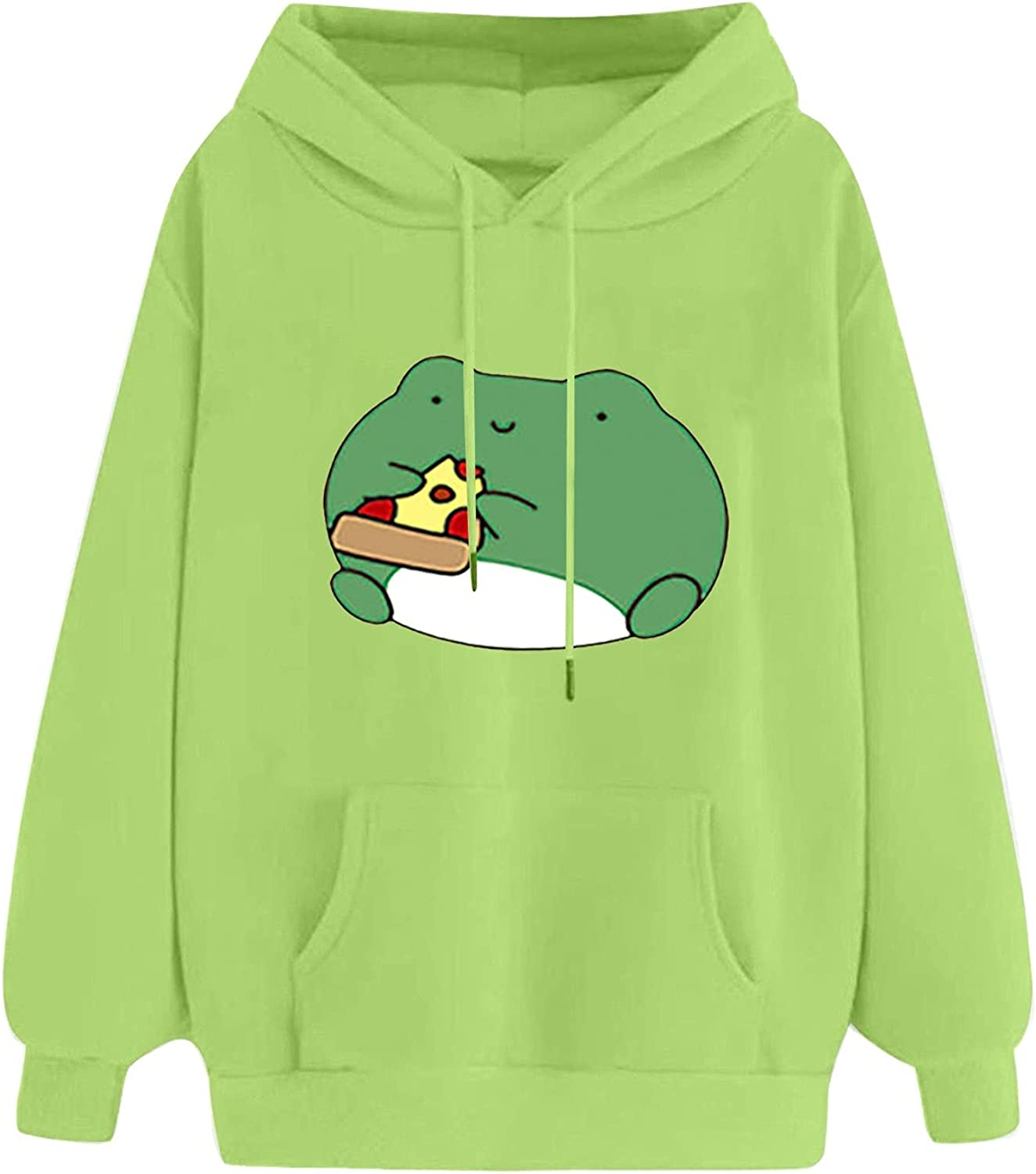 Women's Casual Cute Outstanding Cartoon Animal Ho price Pullover Long Print Sleeve