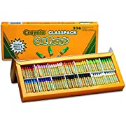 Crayola Oil Pastels Classpack 336-Count, School and Craft Supplies, Teacher and Classroom Supplies, Gift for Boys and Girls, Kids, Ages 3,4, 5, 6 and Up,  Arts and Crafts