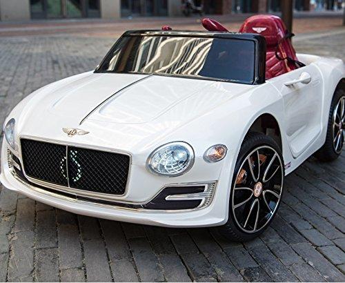 RC Auto kaufen Kinderauto Bild 2: Bentley Elektro Kinderauto/Ledersitz / 2 x 390 Motor / 2 x 6V4AH Batterie/Hartgummi Reifen/USB / SD / MP3 / Modell 2018*