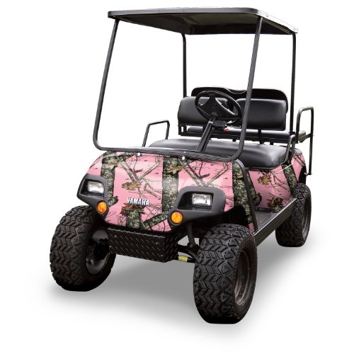 Mossy Oak Graphics (10060-BUP) Break-up Pink 4' x 10' Roll Golf Cart Camouflage Kit