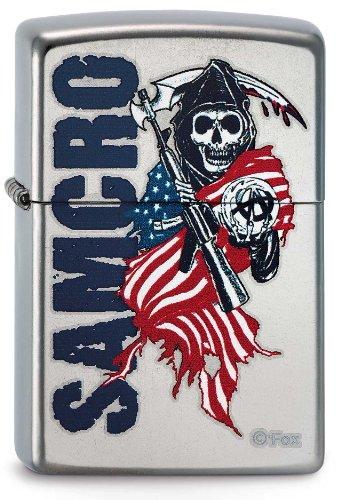 Zippo Feuerzeug 50811050 Sons of Anarchy 3,5 x 1,0 x 5,5 cm