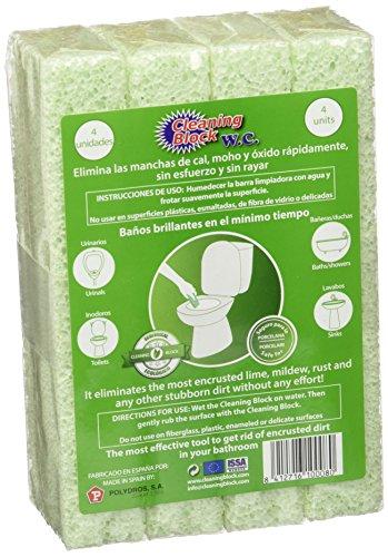Cleaning Block 10008EI blocs pour nettoyage WC Lot de 4