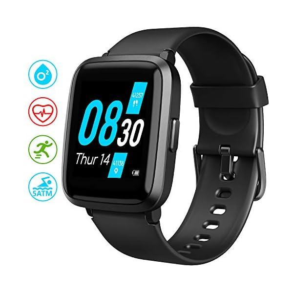 UMIDIGI Reloj Inteligente con Oxímetro (SpO2) Smartwatch con Monitoreo de Frecuencia Cardíaca para Hombre Reloj… 7