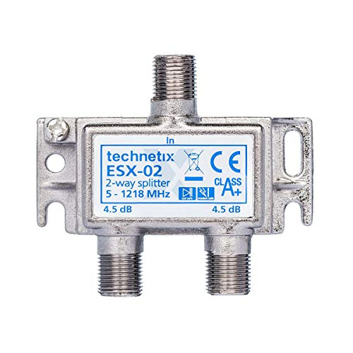 BK-Verteiler 3.8 dB / 5-1218 MHz - 2 Ausgänge