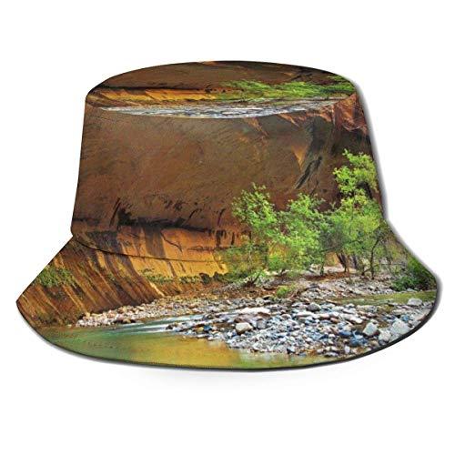 Yearinspace Sombrero unisex para el sol, diseño de pavo real, ala ancha, protección solar, para caminar, pescador, rana, con gafas