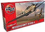 Airfix - Messerschmitt Bf109E-4, Juguete de aeromodelismo (Hornby A01008)