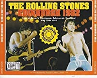 The Rolling Stones Edinburgh 1982 Scotland Playhouse May 28 プレス2CD コレクション