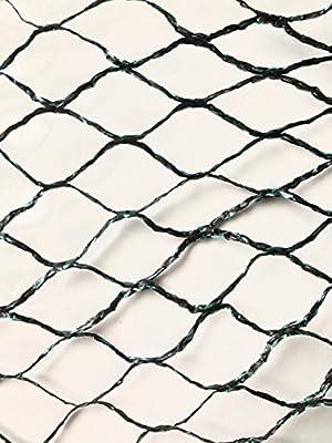 Commercial Grade Heavy Duty Polyethylene Anti Bird Netting for Garden Blueberries Fruit Trees Poultry Cage Pond Net Reusable Does not Tangle Snag or Rot (50 ft x 150 ft)