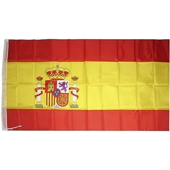 1000 Flags España Federal Manga Barco y casa en el árbol Bandera ...