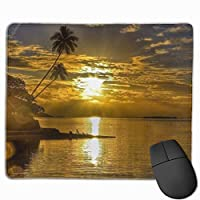 """Youwall Beautiful Sunset Wallpapers Mouse Pad Non-Slip Rubber Gaming Mouse Pad Rectangle Mouse Pads for Computers Desktops Laptop 9.8"""" x 11.8"""""""