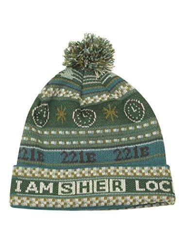 LOVARZI Sherlock Mütze - Offiziell Holmes Mütze BBC lizensiertes - Gestrickte Winter Beanie Hüte