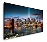 Paul Sinus Art New York City Skyline 120x 60cm Panorama