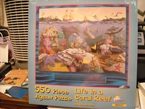 Life in a Coral Reef by Größe DeVito by SunsOut