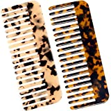 Cellulose Large Hair Detangling Comb,Wide Tooth...