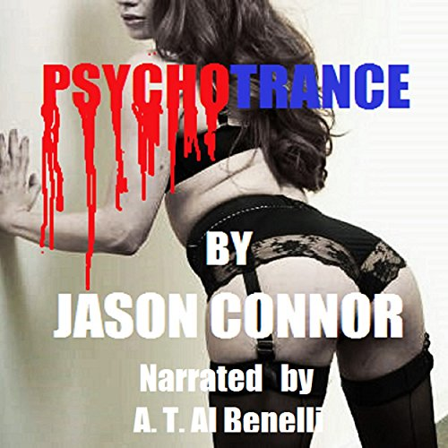 Psychotrance audiobook cover art