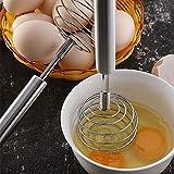 BJCNX Producción en fábrica Batidor de Huevo Manual Creativo de Acero Inoxidable Crema de Cocina casera Barra de agitación de Pasta, Batidos para cocinar, Mezclar, batir, batir, agitar, Muy convenien