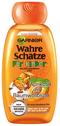 Garnier 2in1 True Treasures | Milde shampoo | Voor kinderen | 250 ml