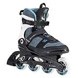 K2 Damen Inline Skates ALEXIS 80 PRO - Schwarz-Grau-Blau - EU: 39 (US: 8 - UK: 5.5) - 30D0772.1.1.080