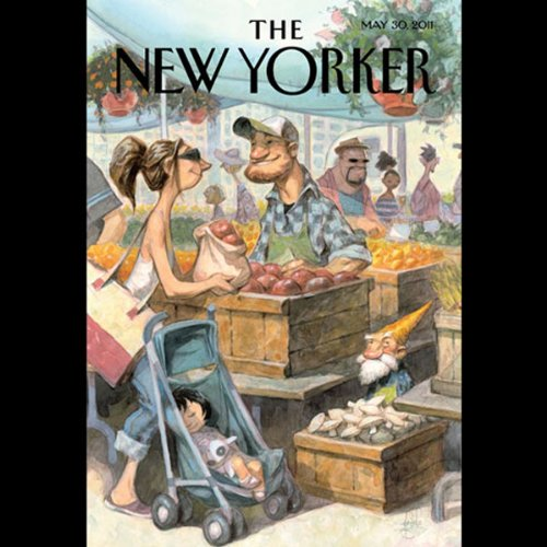 The New Yorker, May 30th 2011 (Rachel Aviv, John Colapinto, Michael Specter) cover art