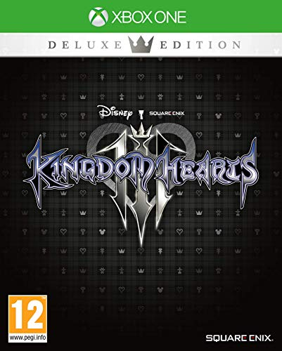 Xbox One Kingdom Hearts III Deluxe Edition incl. Light Up Heartless Keyring