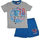 Lionel Messi Offiziell Lizenzierte Kinder Sommer Pyjamas (Grau, 5 Jahre)