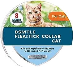 Bespoke garden Flea Collar for Cats, Flea and Tick Collar for Cats 8-Month, Flea Collar for Cat