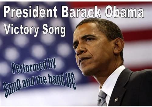 Barack Obama Victory Song product image