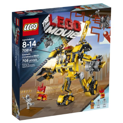 LEGO Movie 70814 Emmet's Construct-o-Mech Building Set(Discontinued by manufacturer) by LEGO