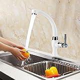 Fregadero de Cocina Grifo de Una Manija Grifo de Agua Fría Para Fregadero de Cocina Lavabo de Baño Bañera Fregona G1 / 2 Plástico ABS