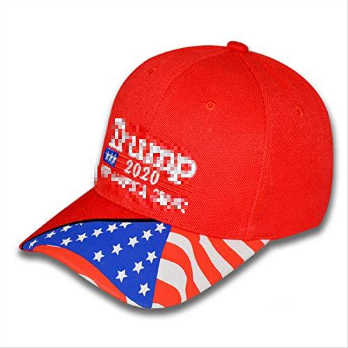 No brand Cappello, Cappellino da Baseball casualCappello da Sole da Pesca all'apertoCappello da Sole Sportivo Codice Medio Samsung Bandiera di Stampa Rosso