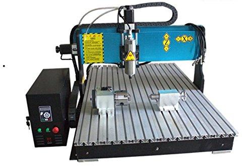 GOWE Enrutador CNC 3D de 1,5 kW, máquina de perforación y fresado de grabador CNC