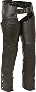 Shaf Womens Classic Leather Hip Pocket Chaps
