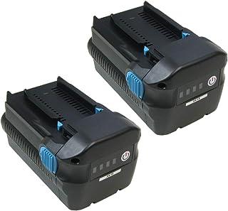 2 st. högpresterande Li-Ion batteri, 36V / 4500 mAh för Hilti TE6A TE-6A TE-6A TE7A TE-7A TE-7-A borrborr slagborr batteri...