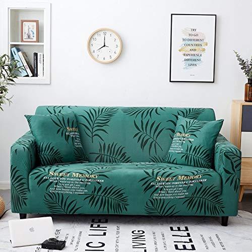 Funda de sofá Funda elástica Funda de sofá con Todo Incluido para Diferentes Formas Sofá Loveseat Silla Funda de sofá Estilo L A16 2 plazas
